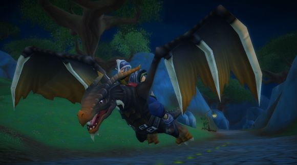 Free realms introduces t rex and flying dragon mounts