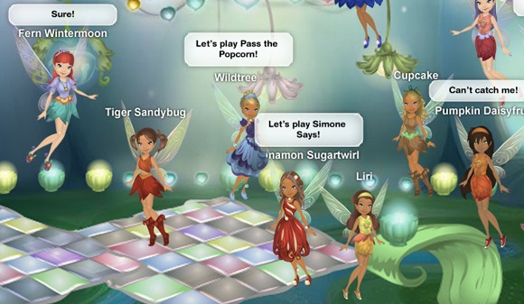 online games like pixie hollow