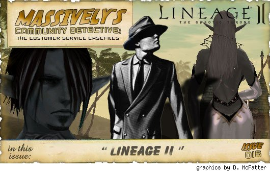Community Detective banner - Lineage II