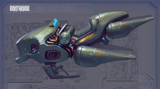 Sci Fi Vehicles Concept Art http://massively.joystiq.com/2011/04/20/masthead-releases-earthrise-vehicle-concept-art/