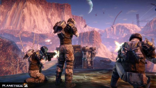 Planetside 2 - soldiers
