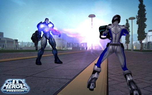 City of Heroes Beam Rifle screenshot
