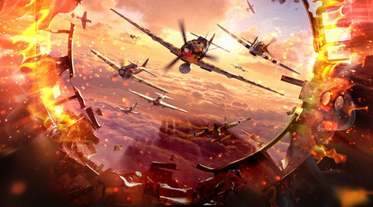 World of Warplanes - key art