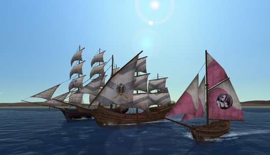Uncharted Waters Online - ships