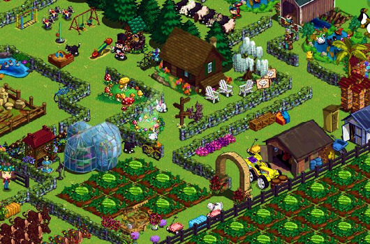 FarmVille screenshot... courtesy of my mom :)