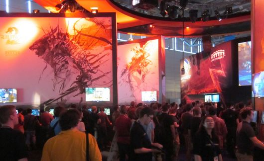 Guild Wars 2 Gamescom booth