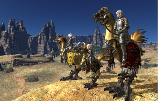 Chocobo knights like chocobo days.