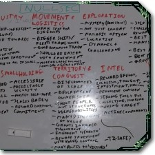 EVE whiteboard image
