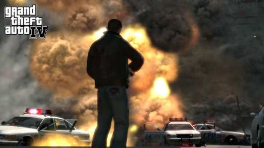 GTA IV destruction