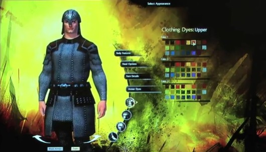 Guild Wars 2 character customization