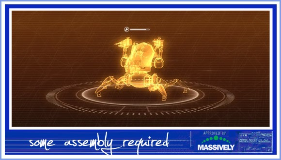 Some Assembly Required header - Perpetuum mech