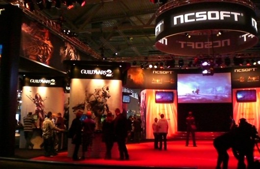 NCsoft booth photo