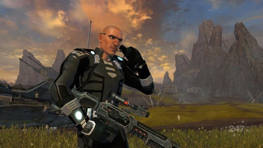 Star Wars the Old Republic - Imperial agent