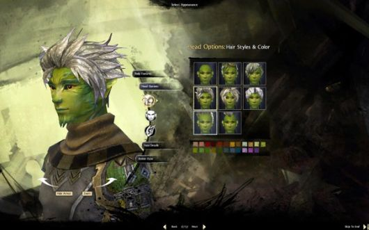 Guild Wars 2 sylvari character customization