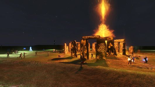 Screenshot -- The Secret World -- Stonehenge