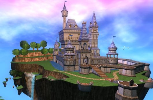 Massive Fantasy Palace in Wizard101