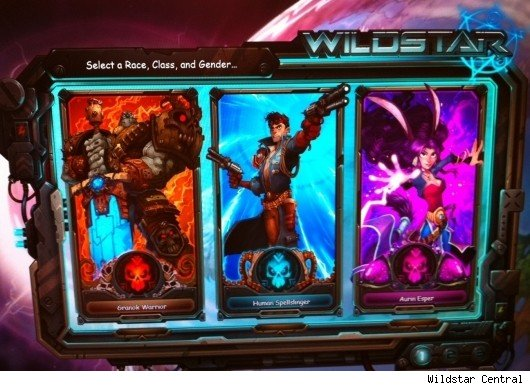 Wildstar class and race