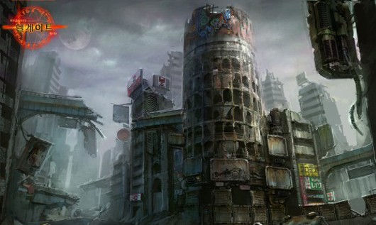 Hellgate Global - Tokyo concept art