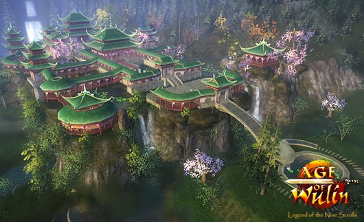 Age of Wulin - aerial shot