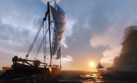 ArcheAge -  player ships