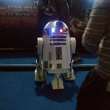 Photo of R2D2 from Eurogamer Expo