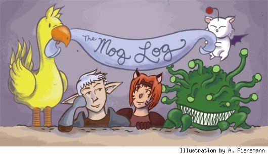The Mog Log header illustration by A. Fienemann