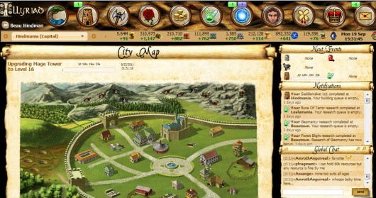 Illyriad screenshot