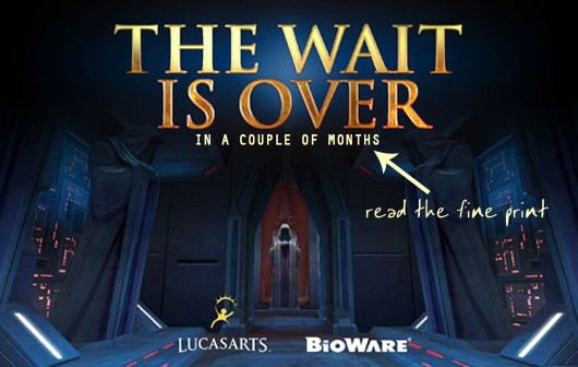 SWTOR: The wait is just about over