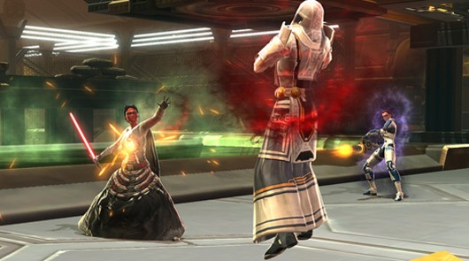 Star Wars The Old Republic - force choke