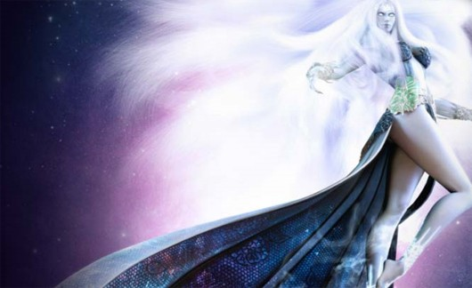 Lineage II - Goddess of Destruction art