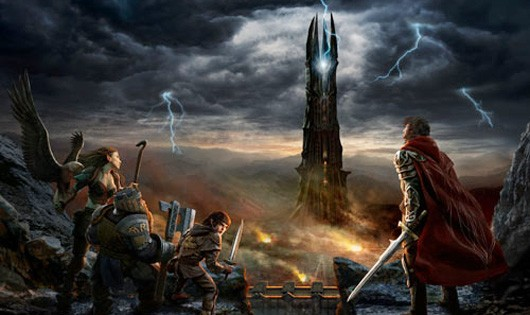 Lord of the Rings Online - Rise of Isengard key art
