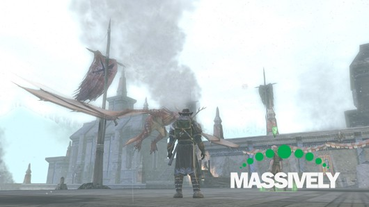 Lord of the Rings Online - skirmish dragon