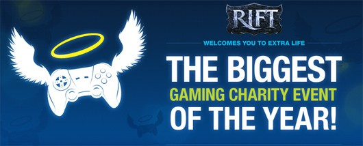 RIFT - Extra Life charity banner