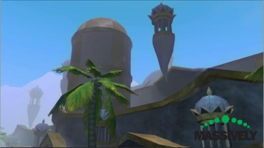 Screencap -- Everquest city of Sarith video