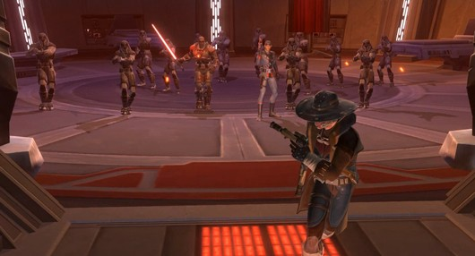 SWTOR: Running away like a Smuggler
