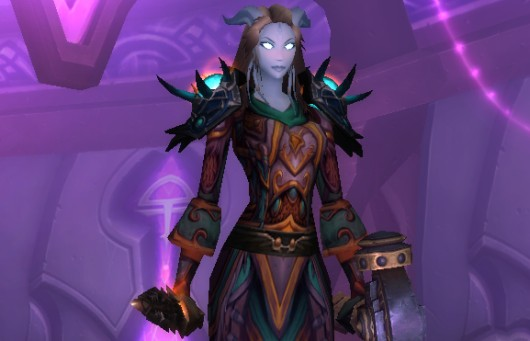 Most of the armor was bought with tokens.  The shoulders were bought with a ten-minute argument between myself and a hunter about whether or not I rolled fairly.