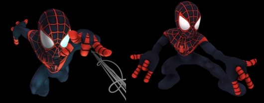 Win an Ultimate Comics Spider-Man character in Super Hero Squad Online