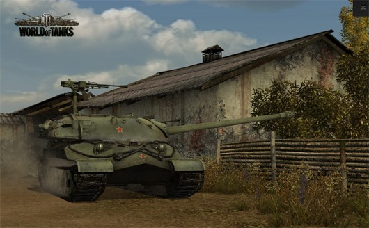World of Tanks - Russian tank