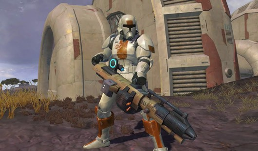 Star Wars The Old Republic - Republic trooper with BFG9000