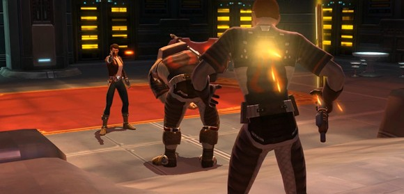 SWTOR: Smuggler cantina shoot-out