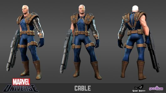 Marvel Universe Online -- Cable