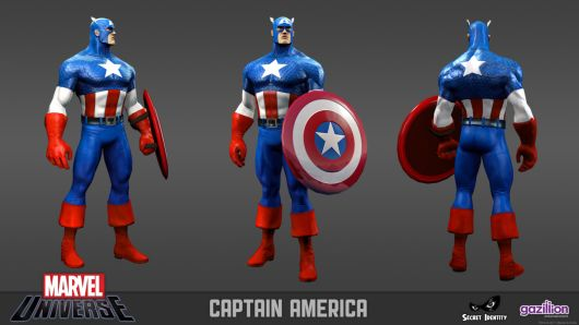 U.S.Age -- I mean Captain America