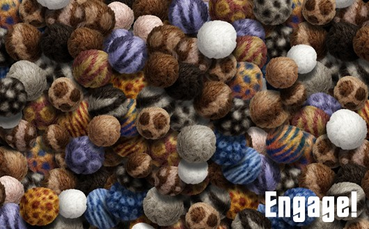 Star Trek Online wallpaper of a pile of Tribbles