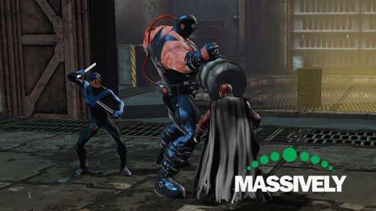 DC Universe Online - Fighting Bane with Nightwing
