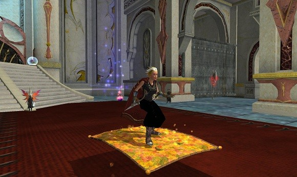EQII leaf blown carpet