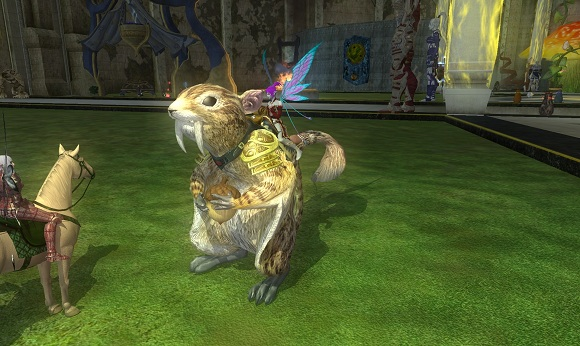 EQII squirrel mount