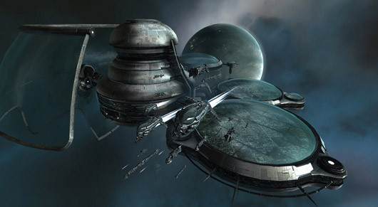 EVE Online - space station