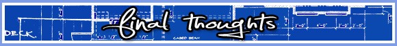Final thoughts banner