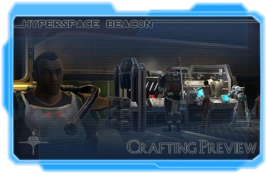 Hyperspace Beacon: Crafting preview