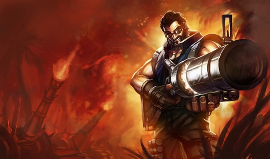League of Legends - Graves artwork